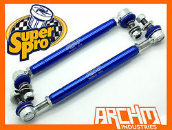 CHRYSLER SEBRING JS 072007-122010 FRONT SUPERPRO ADJUSTABLE SWAY BAR LINK KIT