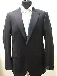 New  Pal Zileri Blue Suit 100 Wool Size 40 R Us 50 R Eu Made In Italy 2btn