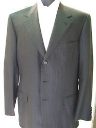 New Brioni Suit 100 Super 150 S Wool  42 Us 52 Eu Made In Italy Br19
