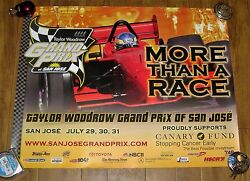 Taylor Woodrow Grand Prix Of San Jose Poster 2005 First Year