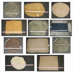 Lot of 12 Pieces - Assorted Pet Bed Covers - Add your own Stuffing