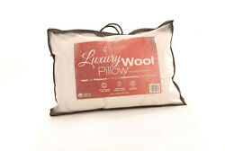 Luxury Wool Pair Of Pillows 19 X 29 700 Grams - Soft Pillow Wool Lambswool