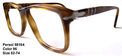 RARE  NEW REAL VINTAGE PERSOL RATTI 58164 Color 96 Blonde Havana
