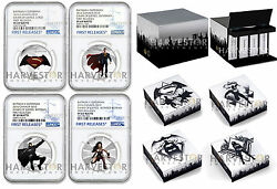 2016 Batman V Superman Dawn Of Justice 10 1/2 Oz. - Ngc Pf69 First Releases