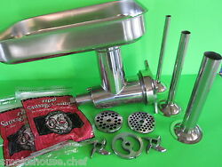 Meat Grinder And Sausage Stuffer Kit For Hobart Univex A200 H600 H600t 8212 8612