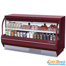 Turbo Air TCDD-72L-R-N Curved Glass Bakery Case