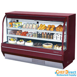 Turbo Air TCDD-72H-R-N Curved Glass Bakery Case