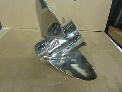 Yamaha Stainless Propeller 14 1/2 X 15 Pitch Ss Reliance Serie Oem 68f-45970-20