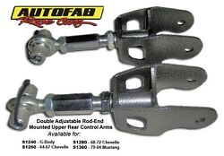 Autofab Race Cars S1260 64-67 Chevelle Upper Rear Control Arms