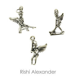 925 Sterling Silver Sports Guardian Angel Charms All Sports Made In Usa