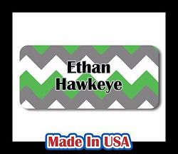 42 Personalized Waterproof Name Labels Stickers Tag Kids Children Bottle School $9.99