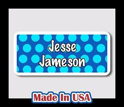 42 Custom Personalized Waterproof Name Labels Stickers Tag Kids Baby Bottle Care $9.99