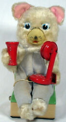 Telephone Bear 1950s By Modern Toys Fully Operational