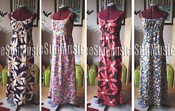 Boden Maxi Dress Stunning Uk Size 6 8 10 12 14 16 New Wh245 Pure Voile Cotton