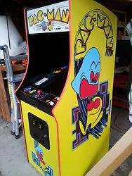 PAC-MAN Fully Restored Original Video Arcade Game with Warranty & Support