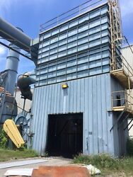 Knockum Dust Collector 50000 CFM 300 hp. fan pulse jet