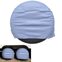 Rv Camper Trailer Wheel Cover For Wheels And Tire Sidewalls Diameter 24 To 26.5