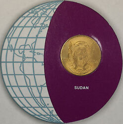 Coins Of All Nations 1978 5 Millim African Coin And Stamp Set