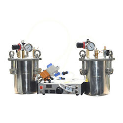 Ab Automatic Dispenser 2l Stainless Steel Pressure Tank Pack Of 2