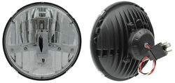 New Two Rostra 7 Round Led Hi/lo Headlamps H6024 Dot For Vintage/classic Cars