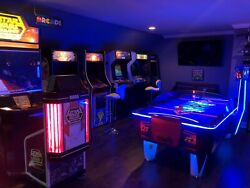 Custom Cocktail Table Top Video Arcade Game cabinet w Warranty - private events
