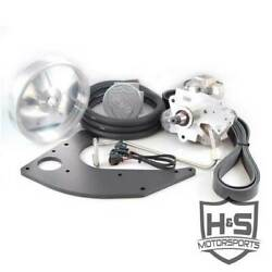 Hands Motorsports Dual Fuel Kit Raw Aluminum For Ford Powerstroke 6.7l 2011-2015