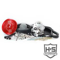 Hands Motorsports Dual Fuel Kit Red For Ford Powerstroke 6.7l 2011-2015