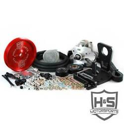 Hands Motorsports Dual Fuel Kit Red For Gm Duramax 6.6l Lml 2011-2015