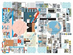 Pigment Print Life-size Jimmy Corrigan... By Chris Ware
