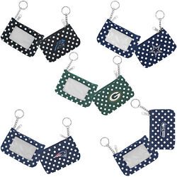 Coin Purse Id Keychain Nfl Pick Your Team