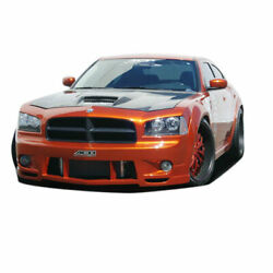 Urethane Luxe Wide Body Front Bumper Cover 1 Piece Fits Dodge Charger 06-10