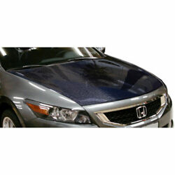 2dr Oer Look Hood 1 Piece Fits Honda Accord 08-12 Carbon Creations