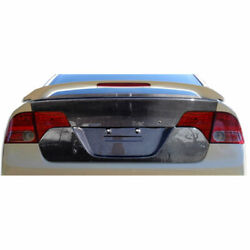 4dr Oem Look Trunk 1 Piece Fits Honda Civic 06-11 Carbon Creations