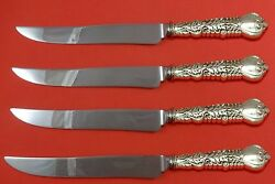 Florentine By And Co Sterling Silver Steak Knife Set Texas Sized Custom