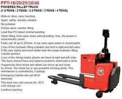 2.5 Tons Electrical Power Pallet Truck