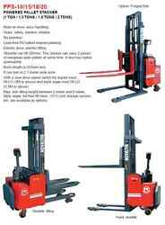 1.8 Tons DC Electric Standing Powered Hydraulic Pallet Truck