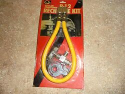 R-12 AIR CONDITIONER RECHARGE KIT R12 AUTO AC RECHARGE KT