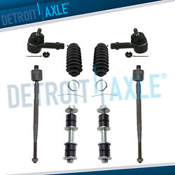 Inner Outer Tie Rods Sway Bar End Links Front For 02-07 Mitsubishi Lancer - Fwd