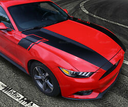2015 2016 2017 Ford Mustang Hood Fender Rally Stripes Trunk Accent Decals Racing