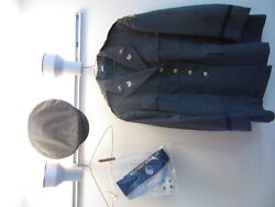 Us Army Officers Green Dress Jacket And Hat Size 7 1/8