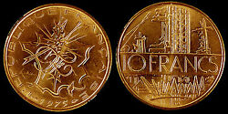 France - 5th Republic 1959 To 2001 Pre-euro- 10 Francs Mathieu - Select The Date
