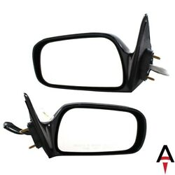 Left And Right Driver And Passenger Pair Set Door Mirror For Toyota Camry