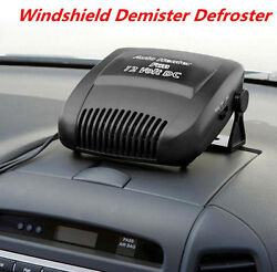 12V Car Vehicle Portable Ceramic Heater Heating Cooling Fan Defroster Demister