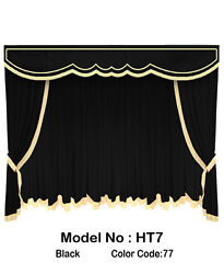Saaria Ht-7 Movie Home Theater Decor Event Hall Stage Velvet Curtain 10and039w X 8and039h