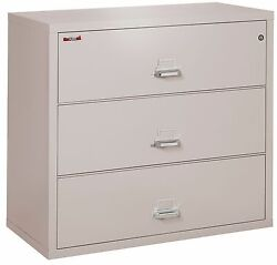 Office Platinum 3 Drawer UL Class 350 1 hr Fireproof Lateral 44