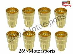 Fuel Injector Sleeve Set Of 8 Fits 94-03 Ford 7.3 7.3l Powerstroke Diesel