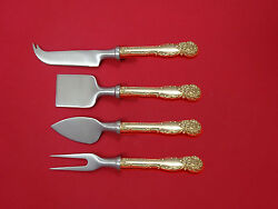 La Reine By Reed And Barton Sterling Cheese Serving Set 4 Piece Hhws Custom