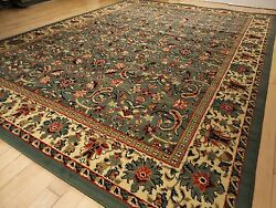 New Green Area Rugs Traditional 8x11 Oriental Rug Hallway Runner Rugs 2x8