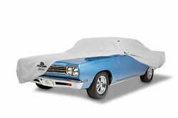 1969-1970 Ford Mustang Fastback Custom Fit Grey Cotton Plushweave Car Cover