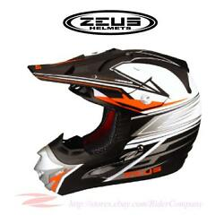 Zeus Zs-905b Zs-905d Motocross Motorcycle Off Road Helmet Dot Safety Approved